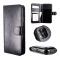 iPhone 11 Pro Max 2i1 magnet lædercover med plads til kreditkort